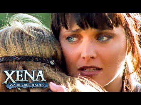 Xena se despede de Solan | Xena: A Princesa Guerreira