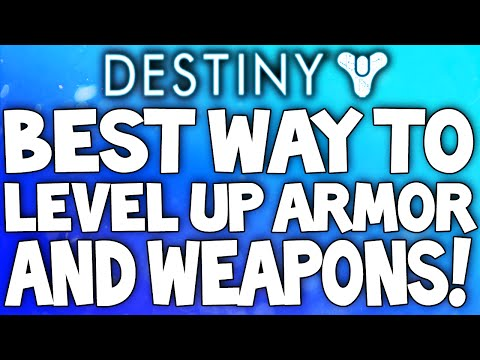 level up - With 3 Chars you can x3 up on all rewards, Even from the VOG! LIKE & Subscribe for Daily Destiny Videos Hey guys, today I bring you what IMO is the best way of leveling up weapons & armor...