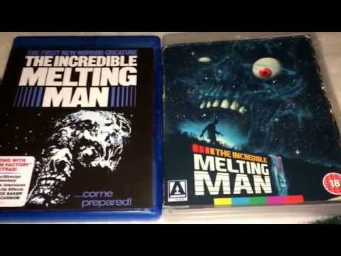 Arrow Video Vs. Scream Factory : The Incredible Melting Man Blu Ray