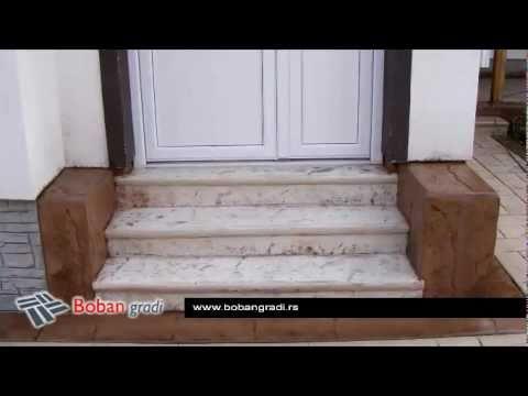 Štampani beton STEPENIŠTA