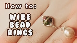 DAY #12 ❄ DIY Easy Wire Rings Tutorial ❄ (12 Days of Christmas) - YouTube