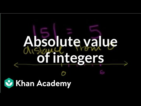Absolute value examples (video) | Khan Academy