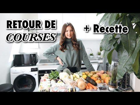 RETOUR DE COURSES + RECETTE LUNCH | SleepingBeauty