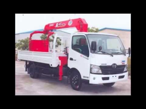 Chuyên bán xe tải gắn cẩu Unic 3 5 8 tấn