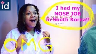 Video [ID Hospital Review] American girl experiencing rhinoplasty in South Korea at Id Hospital!! MP3, 3GP, MP4, WEBM, AVI, FLV Juli 2018
