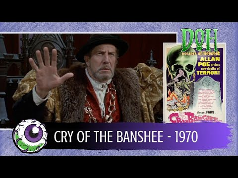 CRY OF THE BANSHEE (1970) - Decades of Horror 1970s Review