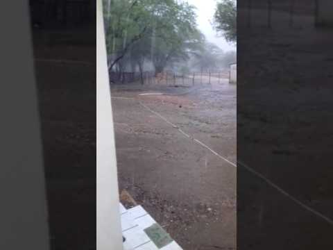Chuva de 53mm na Chácara Bosque dos Sonhos