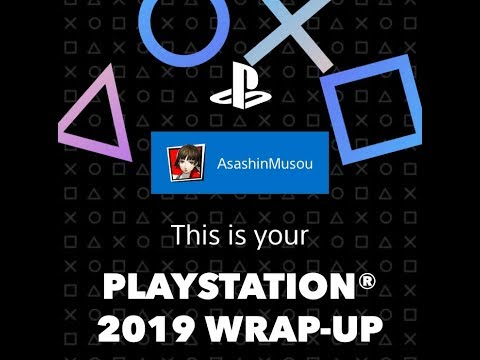 PLAYSTATION 2019 WRAP-UP See how you scored over the last year.
