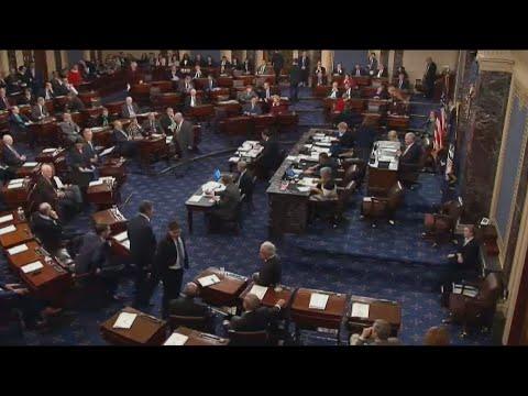 Trumpacusa democratas de provocar fechamento parcial do Governo