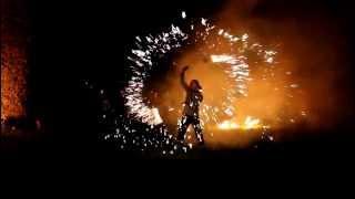 Хелловін в Ужгороді. Fire Show