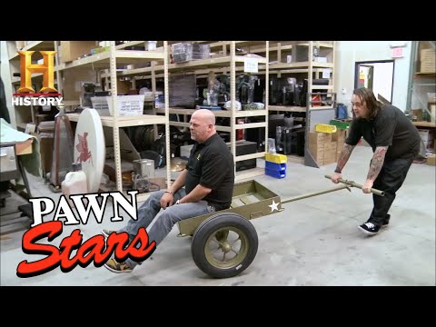 Pawn Stars: Rick Restores WWII Ammunition Cart for a Profit (Season 9) | History