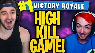 RED CARL & RED NICKS HIGH KILL DUOS WIN! (Fortnite Battle Royale Uncut Gameplay!)