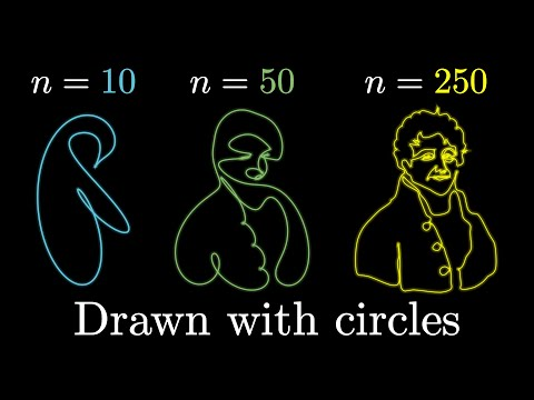 But what is a Fourier series? From heat flow to circle drawings   DE4