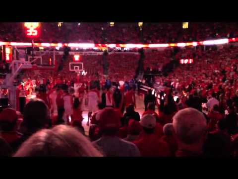 Badger basketball player intro 2013