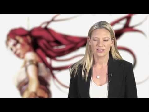 Behind the Scenes of the Heavenly Sword Movie Featuring beautiful Anna Torv
