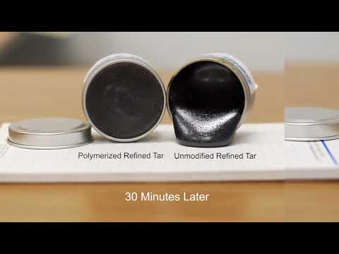Polymerized Refined Tar vs. Unmodified Refined Tar