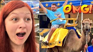 Grim takes his heel wife and daughters to the county fair to eat dinner at a restaurant, ride a camel, play with toy cars, and visit a petting zoo with the family in this hilarious fun happy family daily vlog! fan mail addressgrims toy showpo box 371island heights nj 08732GTS SHIRTS AT http://www.prowrestlingtees.com/grimstoyshowGTS CHANNEL: https://www.youtube.com/watch?v=InsA0vtvSK8GRIMS TOY CHANNEL: https://www.youtube.com/watch?v=gaXIJukCHksMORE FUN AT OUR WEBSITE http://grimstoyshow.com/FOLLOW US ON TWITTER https://twitter.com/GrimsToyShow