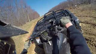 4. 2017 Honda Rancher Trail/Mud ridding