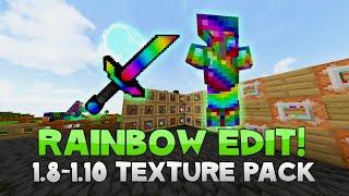 AciDic BliTzz RAINBOW SHORT SWORD Texture Pack (1.8/1.9/1.10 Resource Pack)