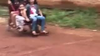 Jak ojciec zrobi zabawę dla dzieci to ciężko go przebić