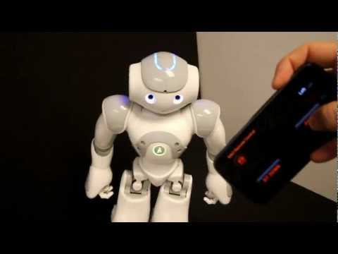 Video of NAO Remote Control