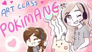 Lily's Art Class 9 ~ POKIMANE ft. Poki ❤