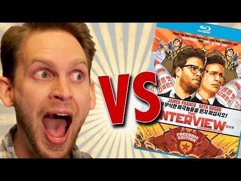 The Interview Blu-Ray Unboxing