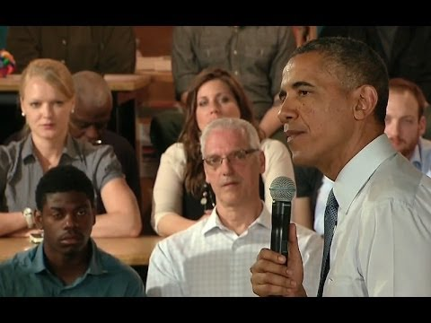 President Obama Speaks on Manufacturing and Innovation