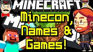 Minecraft News MINECON, Holograms, NAMES&Games!