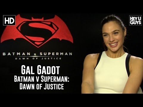 "Interview: Gal Gadot (Wonder Woman) on ""Batman vs. Superman: Dawn of Justice"" And Movie Review"