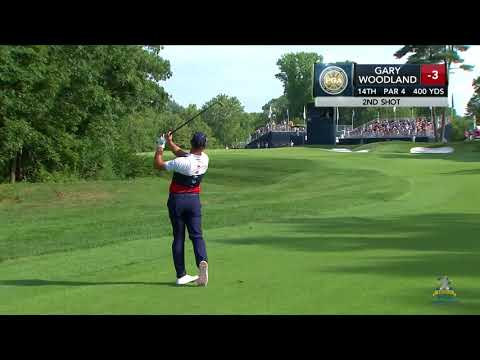 Gary Woodland takes Round 1 lead at PGA Championship