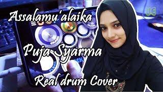 Video Assalamu'alaika Puja Syarma Version ( Realdrum  Cover ) MP3, 3GP, MP4, WEBM, AVI, FLV Mei 2019