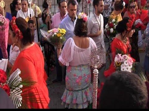 Ofrenda de Flores a San Francisco de Asís en Isla Cristina