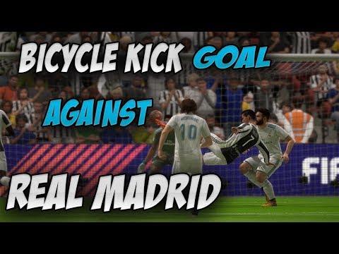 Cristiano Ronaldo Bicycle Kick Goal Recreation Against Real Madrid | Real Madrid Vs Juventus FIFA 18