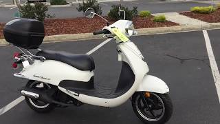 10. Contra Costa Powersports-Used 2015 Lance Havana Classic 150 motorscooter