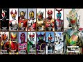 Kamen Riders Final Forms Themes (2000-2014)