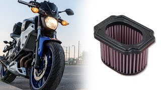 Video Do Performance Motorcycle Air Filters Give More Horse Power? [Motorcycles] || [Tested on MT-07] MP3, 3GP, MP4, WEBM, AVI, FLV Juli 2019