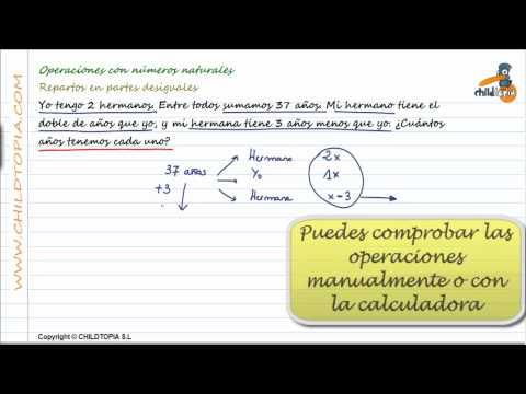 Vídeos Educativos.,Vídeos:Problemas numeros naturales 3
