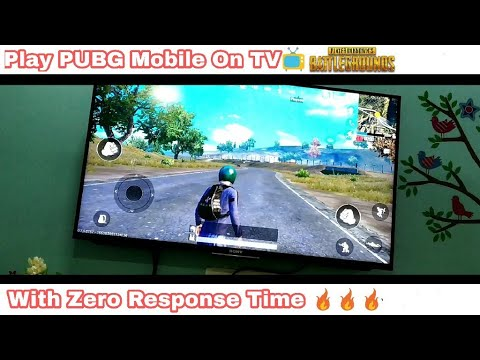 How To Play PUBG Mobile Directly On TV With Zero Response Time