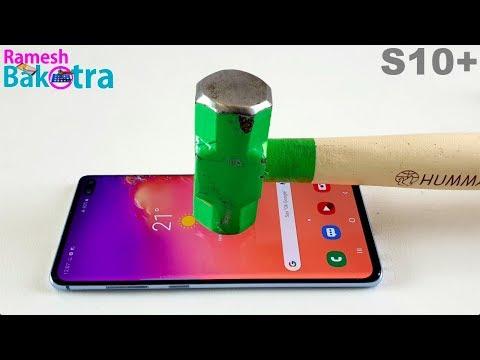 Samsung Galaxy S10 Plus Screen Scratch Test Gorilla Glass 6 - Thời lượng: 5 phút, 54 giây.