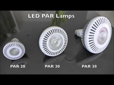 LED PAR lamp vs Incandescent Halogen PAR lamp