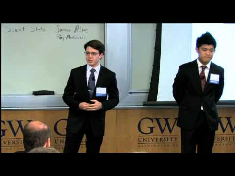 2013 GW Business Plan Competition Finals Best Undergraduate: Jenda