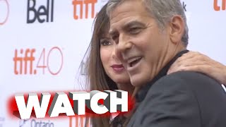Our Brand is Crisis: George Clooney & Sandra Bullock at TIFF 2015 Red Carpet Premiere