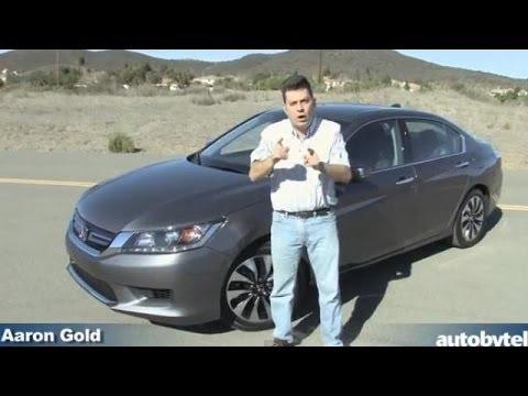 2014 Honda Accord Hybrid Video Review — 50 MPG Hybrid Family Sedan