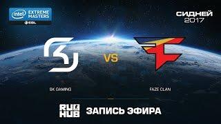 SK Gaming vs. FaZe Clan - IEM Sydney - Super finals - map1 - de_train [ceh9, sleepsomewhile]