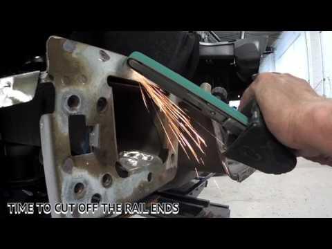 Replacing a Camaro Rear Body Panel