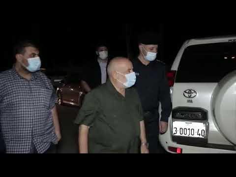 أعضاء المجلس التشريعي خلال جولة تفقدية للحواجز  الشرطية والأمنية شمال قطاع غزة