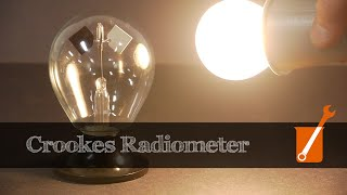 How A Crookes Radiometer Works