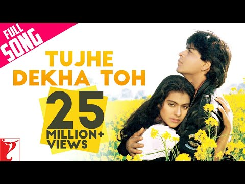 Video Tujhe Dekha Toh - Full Song | Dilwale Dulhania Le Jayenge | Shah Rukh Khan | Kajol download in MP3, 3GP, MP4, WEBM, AVI, FLV January 2017