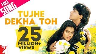 Nonton Tujhe Dekha Toh   Full Song   Dilwale Dulhania Le Jayenge   Shah Rukh Khan   Kajol Film Subtitle Indonesia Streaming Movie Download